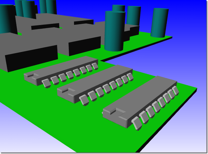 BAE Version 7.2: Layout / CAM Processor: WRL Export with External 3D Part Models